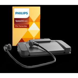 Kit Secrétaire Philips LFH 7277 et logiciel SpeechExec Pro Transcribe