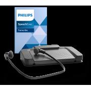 Kit secrétaire Philips LFH7177 et logiciel Philips SpeechExec Pro Transcribe