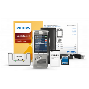 Pack de transcription Philips - 1 Dictant et 1 Assistant(e)