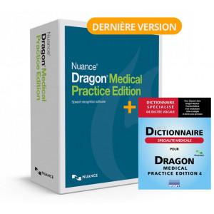 Mise à Jour Dragon Medical Practice 2 ou 3 vers version Dragon Medical Practice 4 (avec Dictionnaire de Specialité)
